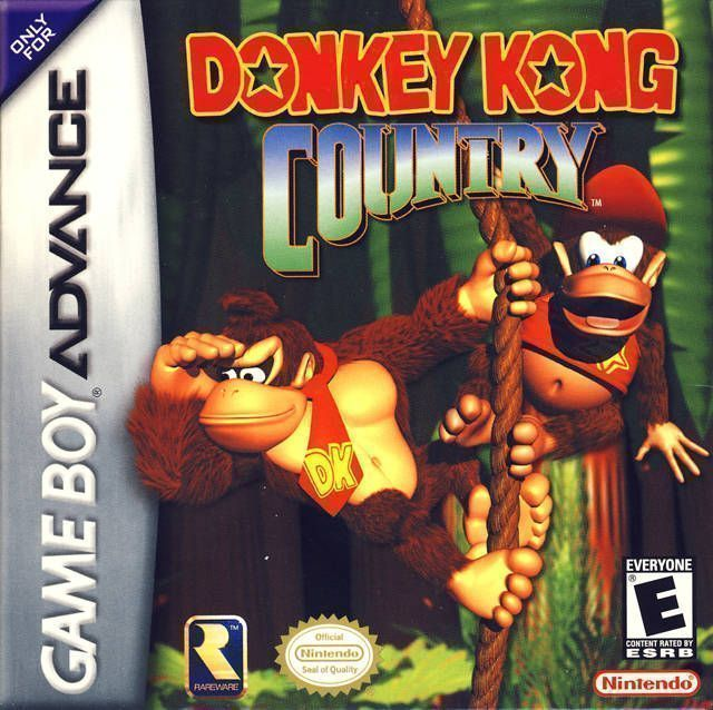 Donkey Kong Country  Gameboy AdvanceGBA ROM Download