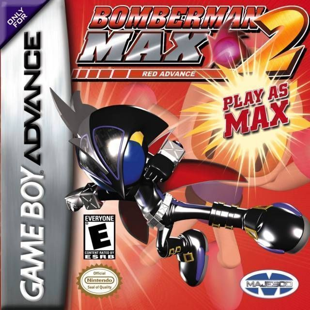 Bomber-Man Max 2 Red