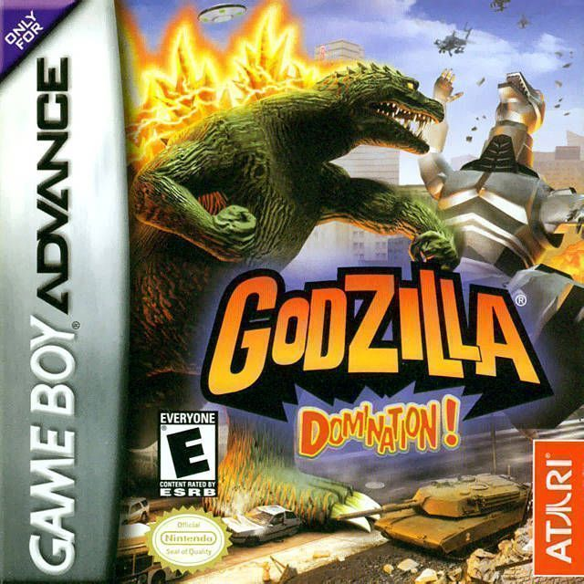 Godzilla Domination Gameboy Advance Gba Rom Download