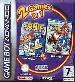 2 In 1 - Sonic Advance & Sonic Battle