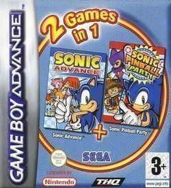 2 In 1 - Sonic Advance & Sonic Pinball Party