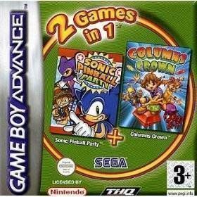 2 In 1 - Sonic Pinball Party & Columns Crown - GBA ROM Free Download