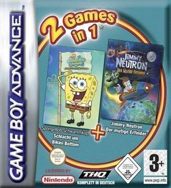 2 In 1 - Spongebob Squarepants Battle For Bikini Bottom & Jimmy Neutron Boy Genius