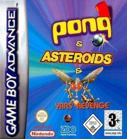 3 In 1 - Asteroids, Yar's Revenge And Pong (sUppLeX)