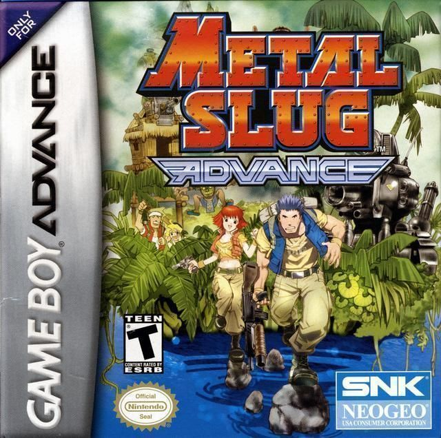 Metal Slug Advance - Gameboy Advance(GBA) ROM Download