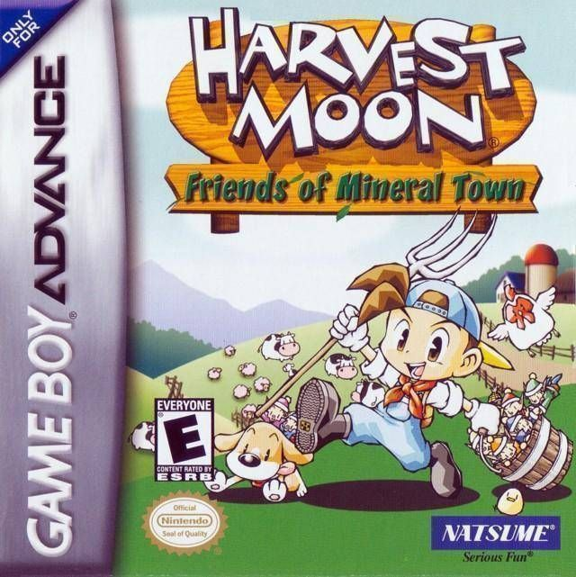 Harvest Moon - Friends Of Mineral Town - GBA ROM Free Download