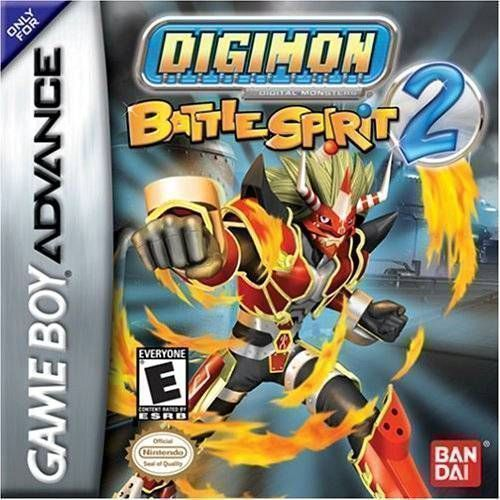Digimon Battle Spirit 2 Rising Sun Gameboy Advance Gba