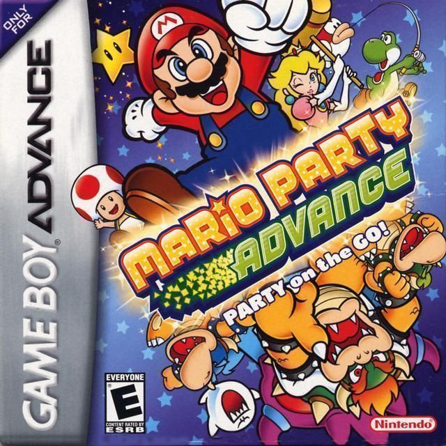 Mario Party Advance Gameboy Advance Gba Rom Download