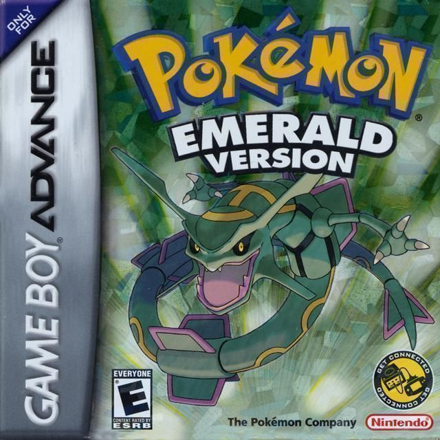 Pokemon  Emerald Version  Gameboy AdvanceGBA ROM Download