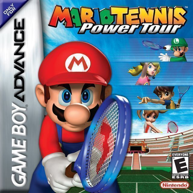 Mario Tennis Advance - Power Tour - Gameboy Advance(GBA) ROM Download