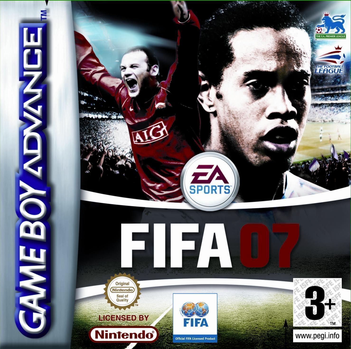 FIFA 2007 - Gameboy Advance(GBA) ROM Download