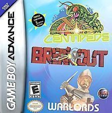 3 In 1 - Break Out Centipede Warlords GBA