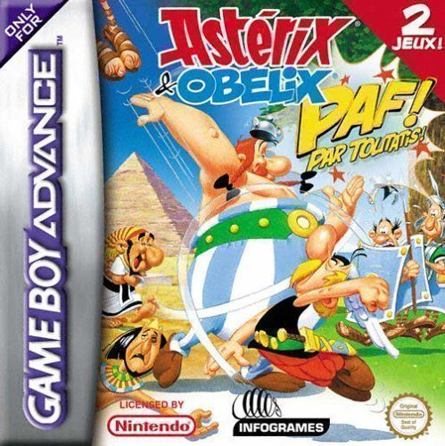 Asterix And Obelix - Paf Them All GBA - GBA ROM Free Download