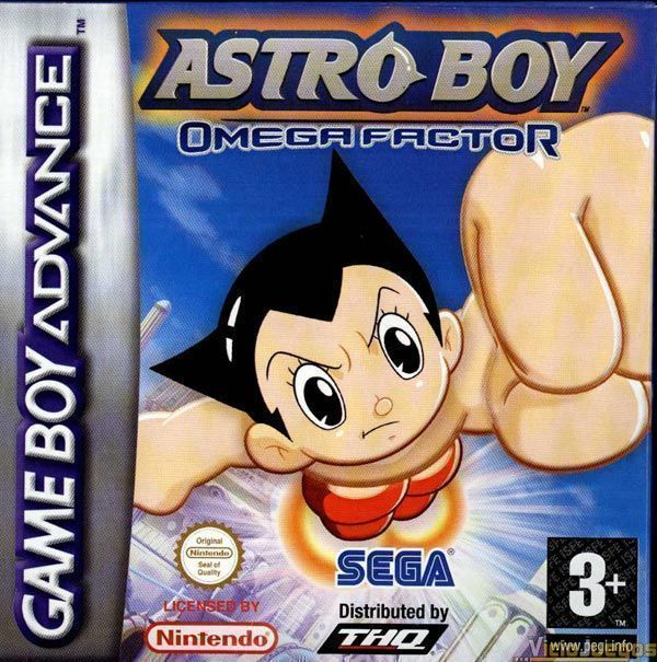 Astro Boy - Omega Factor GBA - Gameboy Advance(GBA) ROM Download