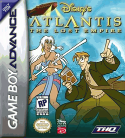 Atlantis - The Lost Empire GBA