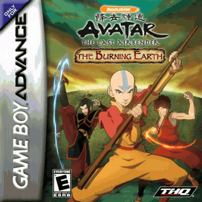 Avatar The Last Airbender Gba Gameboy Advance Gba Rom Download