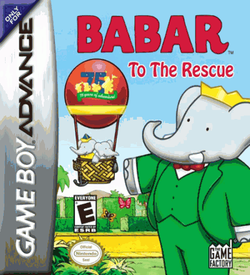 Babar To The Rescue GBA