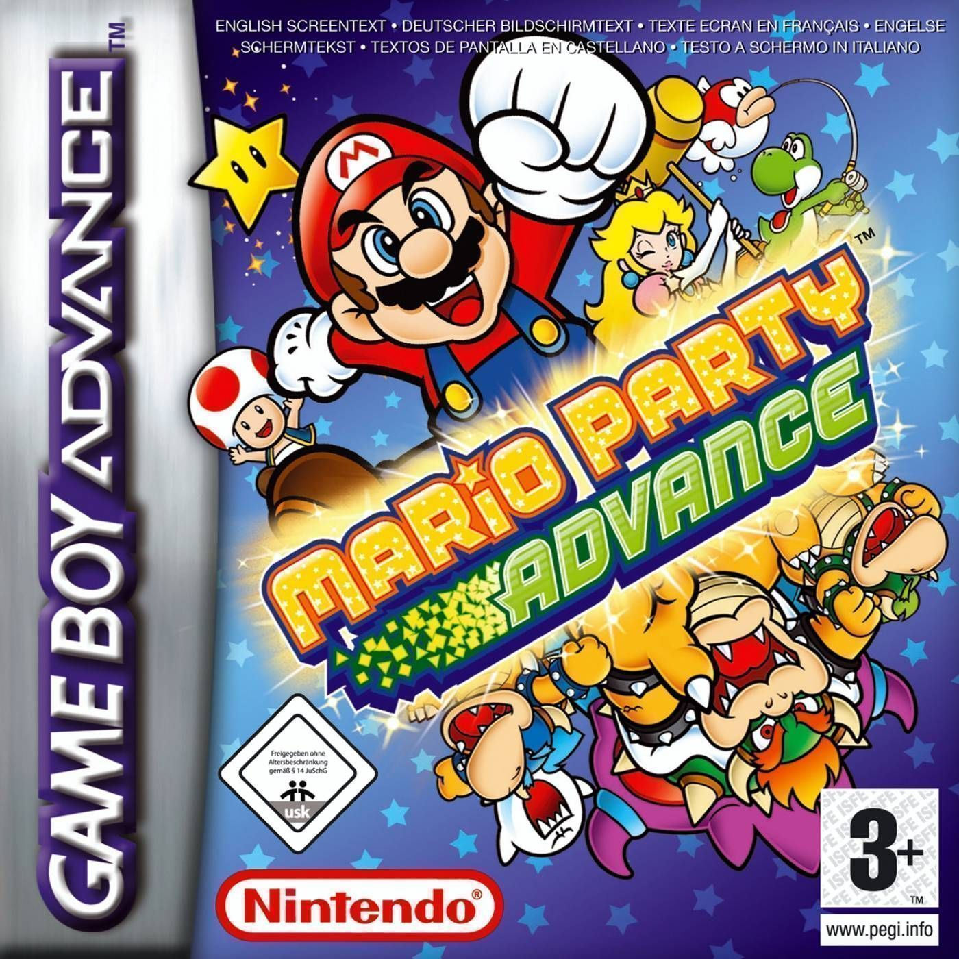 Gameboy color roms for free - Mario Party Advance