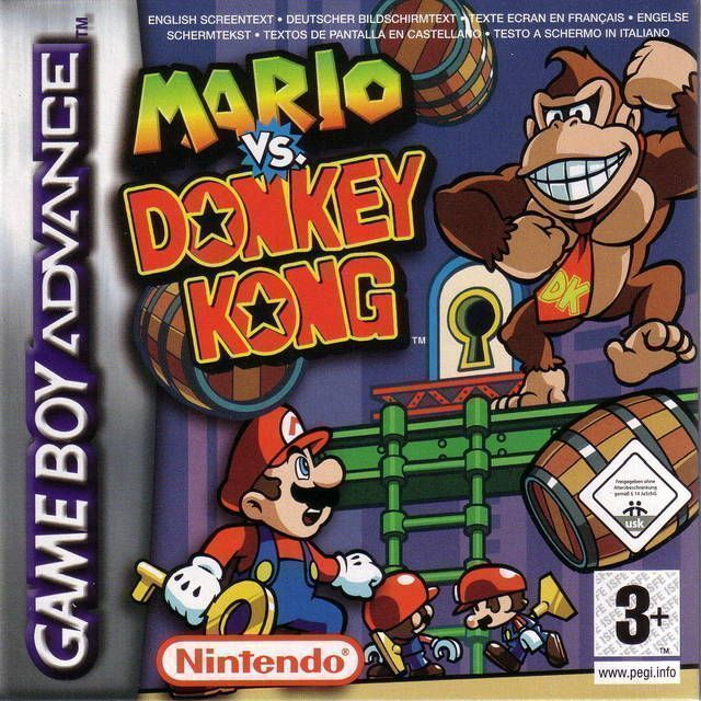 Mario Vs  Donkey Kong - Gameboy Advance(GBA) ROM Download
