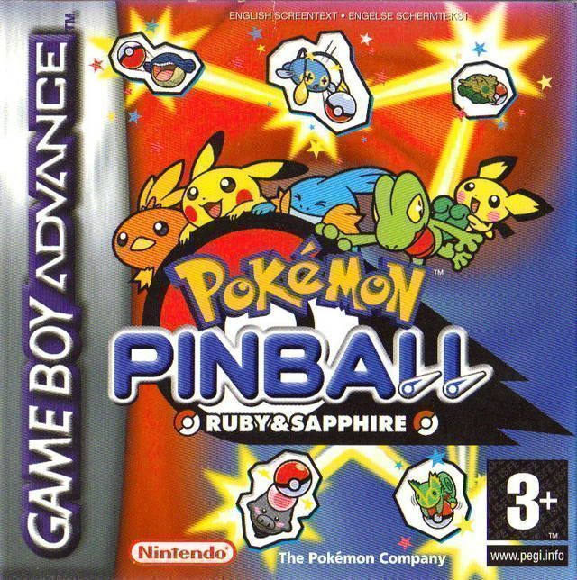 Pokemon Pinball - Ruby & Sapphire (Surplus) - Gameboy