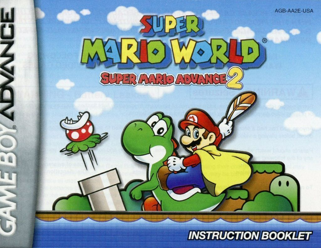 Super Mario Advance 2 Super Mario World Gameboy