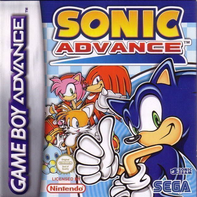 Sonic Advance Gameboy Advance Gba Rom Download