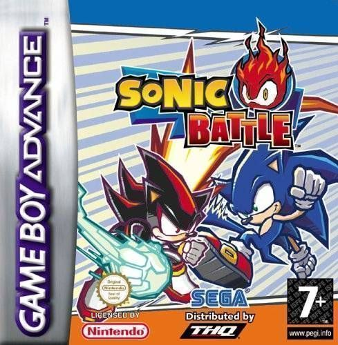Sonic Battle Gameboy Advance Gba Rom Download