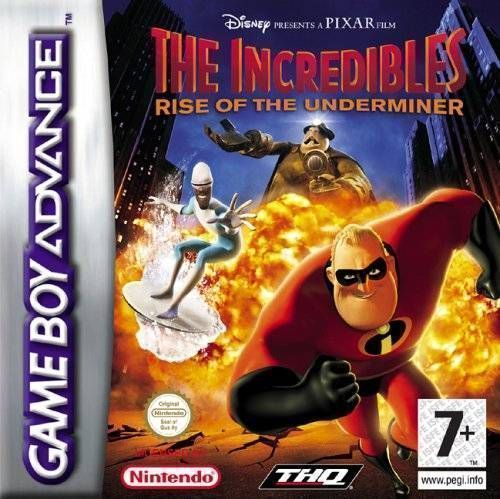 The Incredibles - Rise Of The Underminer