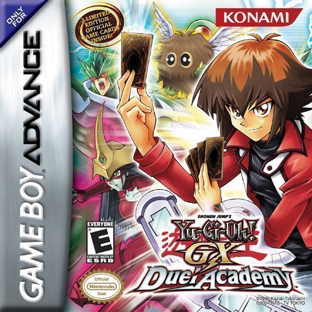 Yu Gi Oh GX Duel Academy Gameboy AdvanceGBA ROM Download