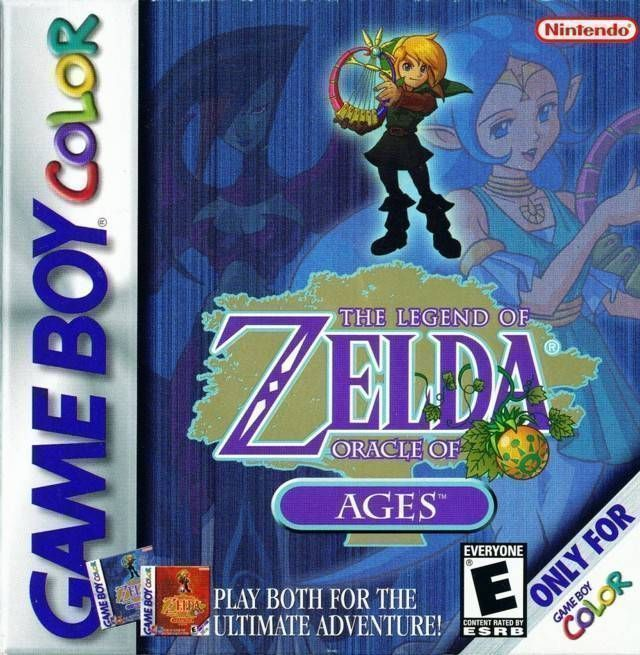 Legend Of Zelda, The - Oracle Of Ages - Gameboy Color(GBC) ROM Download