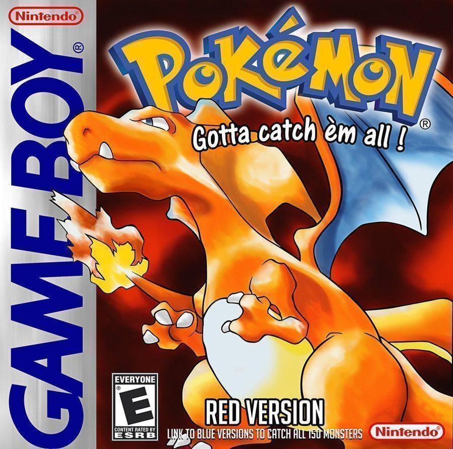 Pokemon  Red Version  Gameboy ColorGBC ROM Download