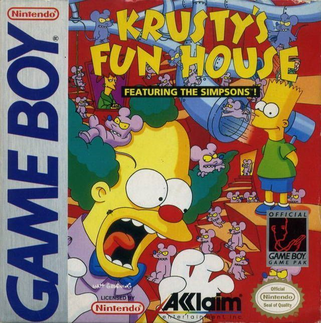 Simpsons, The - Krusty's Funhouse