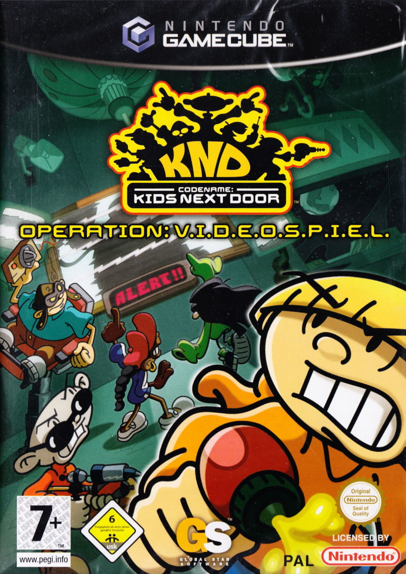 Codename Kids Next Door Operation V.I.D.E.O.S.P.I.E.L.