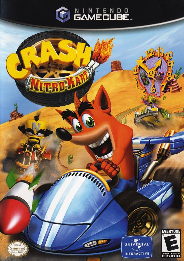 Crash Nitro Kart - GameCube ROM Download