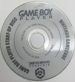 Game Boy Player Start Up Disc