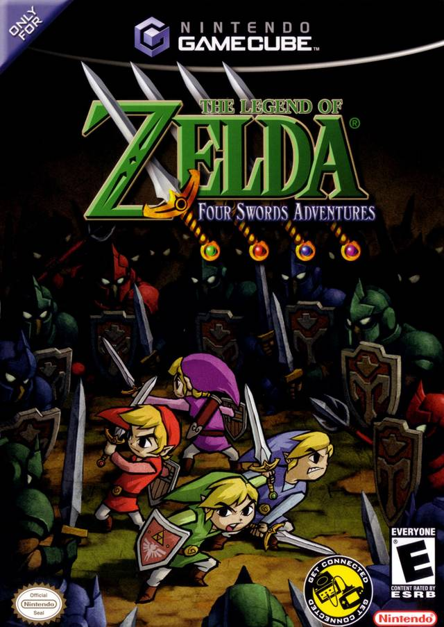 Legend Of Zelda The Four Swords Adventures - GameCube ROM Download