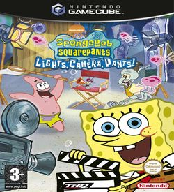 Nickelodeon SpongeBob SquarePants Lights Camera Pants