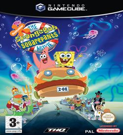 Nickelodeon SpongeBob SquarePants The Movie - GameCube ROM