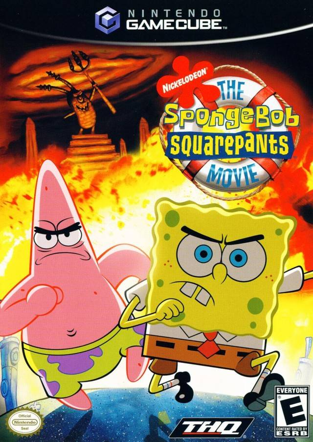Nickelodeon SpongeBob SquarePants The Movie