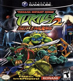Teenage Mutant Ninja Turtles 2 Battle Nexus  - Disc #2