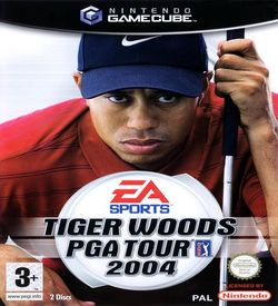 Tiger Woods PGA Tour 2004  - Disc #1
