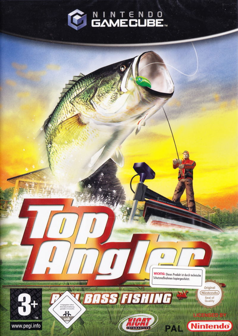 Top Angler Real Bass Fishing