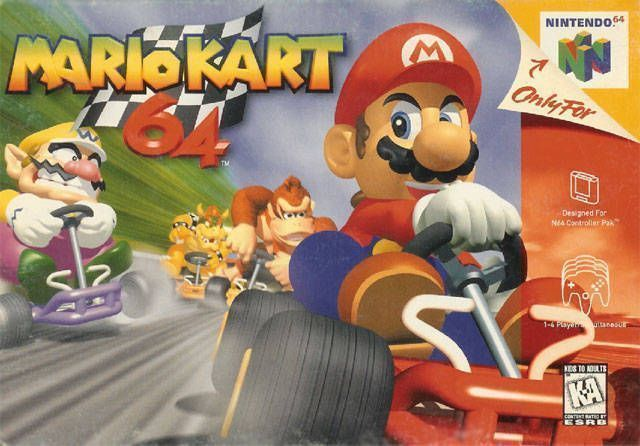 Mario Kart 64 (V1 1) - N64 ROM Free Download