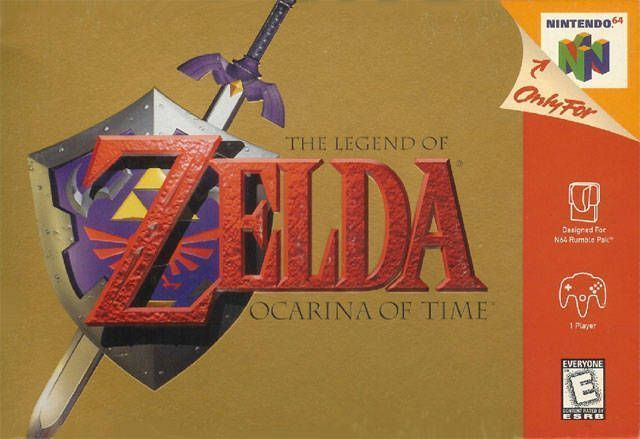 Legend Of Zelda, The - Ocarina Of Time (V1.2)