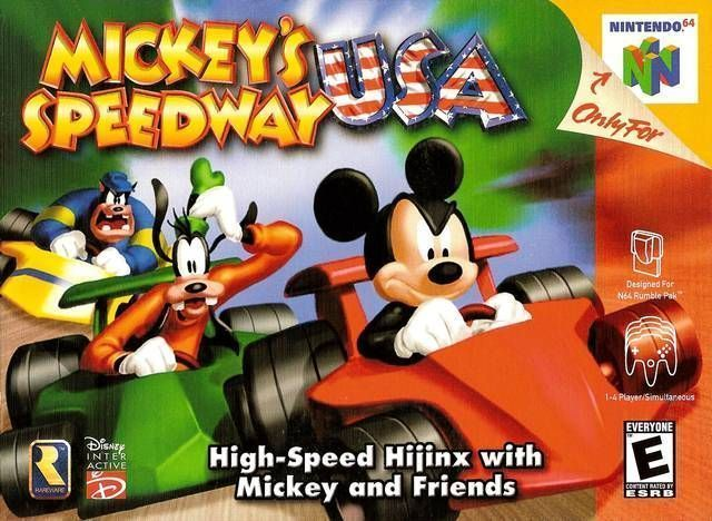 Mickey S Speedway Usa Nintendo 64 N64 Rom Download