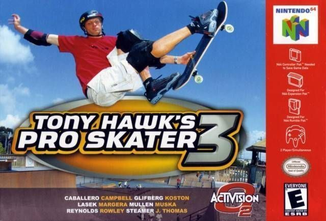 Tony Hawk S Pro Skater 3 Nintendo 64 N64 Rom Download