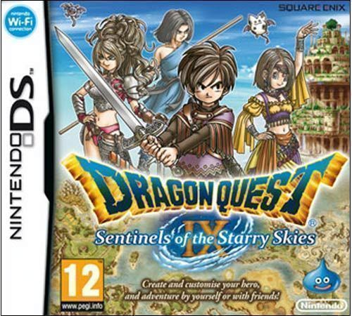 5075 - Dragon Quest IX - Sentinels Of The Starry Skies - Nintendo DS
