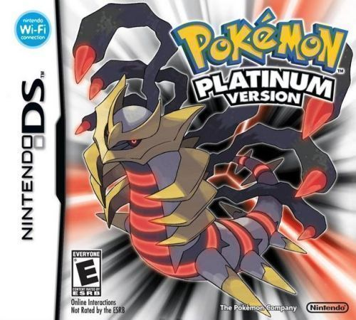 Pokemon Platinum Version (US) (USA) Game Cover