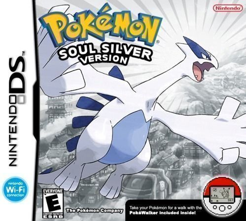 Pokemon - SoulSilver Version (USA) Game Cover