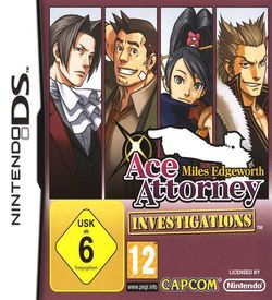 4733 - Ace Attorney Investigations - Miles Edgeworth